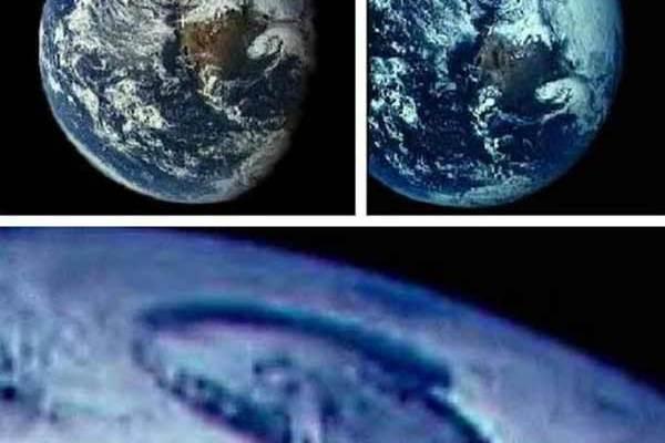Des images de la NASA montrent un gigantesque trou au Pôle Nord qui mène à la Terre Creuse