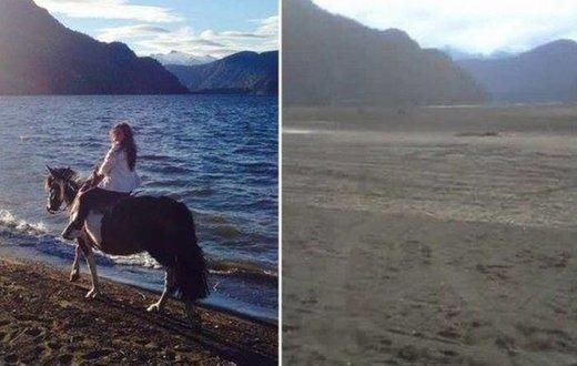 Chili : un lac de 14km² disparaît en une nuit