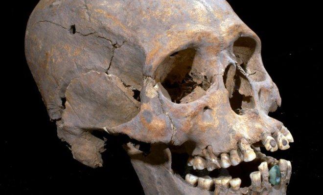 Maya: Un crâne improbable découvert à Teotihuacan