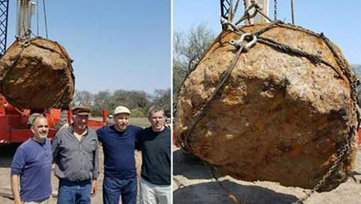 Une météorite de 30 tonnes découverte en Argentine