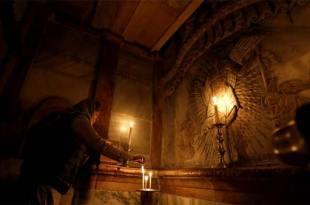 Dans le Tombeau du Christ, les appareils de mesure tombent en panne