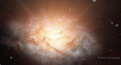 L'univers s'aplatit, affirment des chercheurs britanniques