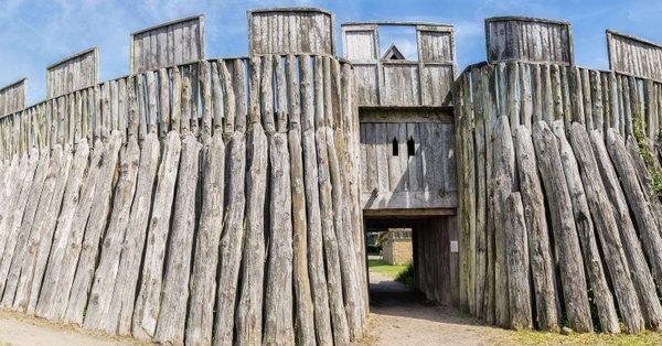 Une impressionnante forteresse Viking découverte au Danemark