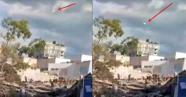 Vidéos: Un OVNI filmé lors du séisme survenu au Mexique