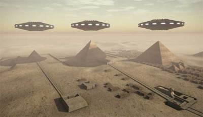 Des chercheurs estiment que les pyramides sont d'origine extraterrestre