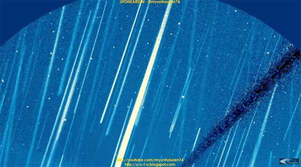 Vidéo: Anomalies et Flotte d'Ovnis dans l'espace solaire