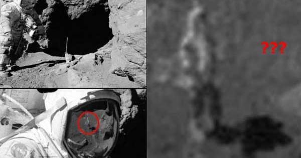 Vidéo: Ce reflet dans la visière d'un astronaute montre-t-il une silhouette mystérieuse sur la Lune?