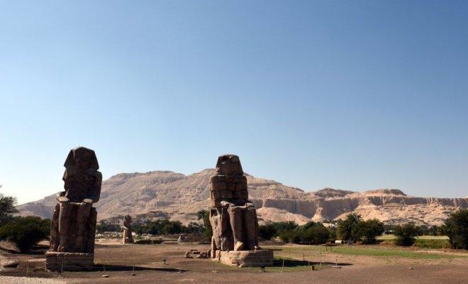Egypte: découverte de 27 statues fragmentées de la déesse Sekhmet