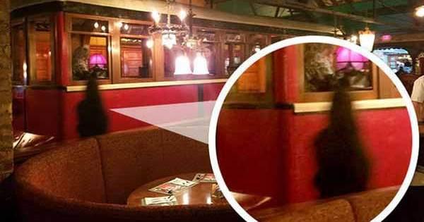 Un fantôme à été photographié dans un bar de Salt Lake City