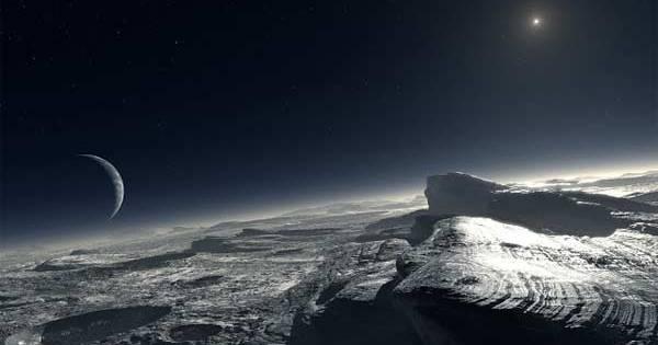Des extraterrestres vivent peut-être sous la croûte de Pluton d'après un éminent scientifique Britannique