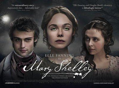Elle Fanning est Mary Shelley