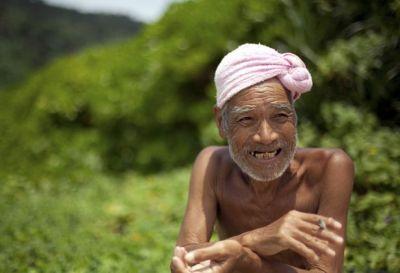 Masafumi Nagasaki : un japonais vit nu seul sur une île déserte depuis 29 ans