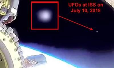 Vidéo: Des OVNI incandescents repérés près de la Station spatiale internationale lors d'une sortie spatiale