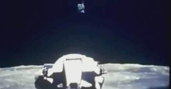Vidéo: Un Ovni a survolé le module lunaire de la Mission Apollo, dans les Archives de la NASA