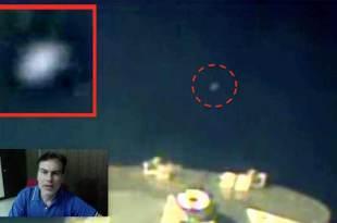 Vidéo: Un OVNI blanc repéré avec la webcam de la NASA à bord de l'ISS