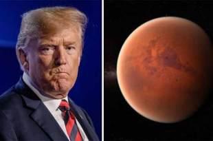 """Donald Trump exige que la NASA envoie des humains sur Mars l'ANNÉE PROCHAINE en offrant """"tout l'argent nécessaire"""""""