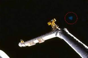 Le vaisseau triangulaire bleu du projet top-secret Aurora repéré dans des photos de la NASA!