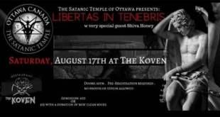 Le temple satanique d'Ottawa célébrera sa première messe noire publique au Canada 17 août 2019 Emmanuel FacebookTwitterPinterestWhatsAppTumblrEmailVKPartager Le temple satanique d'Ottawa célébrera sa première messe noire publique au Canada