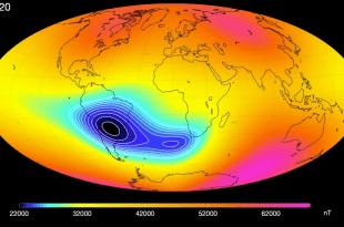 La NASA surveille une vaste anomalie croissante dans le champ magnétique terrestre