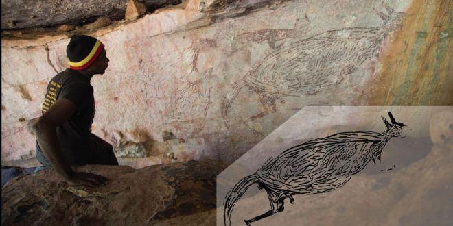 Découverte de la plus ancienne peinture rupestre connue d'Australie
