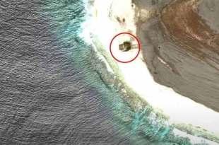 Le site du crash d'un OVNI repéré sur Google Earth