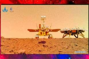 La Chine publie de nouvelles photos de la surface de Mars
