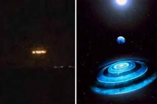 Observation d'OVNI : Des lumières étranges au-dessus de San Diego
