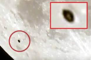Un OVNI a été filmé à proximité de la Lune