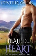 Review:  Healed by a Heart – Cynthia Woolf