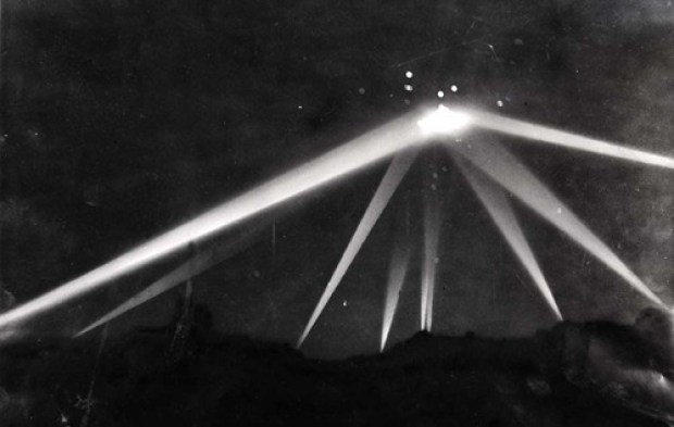 Battle of Los Angeles UFO photo