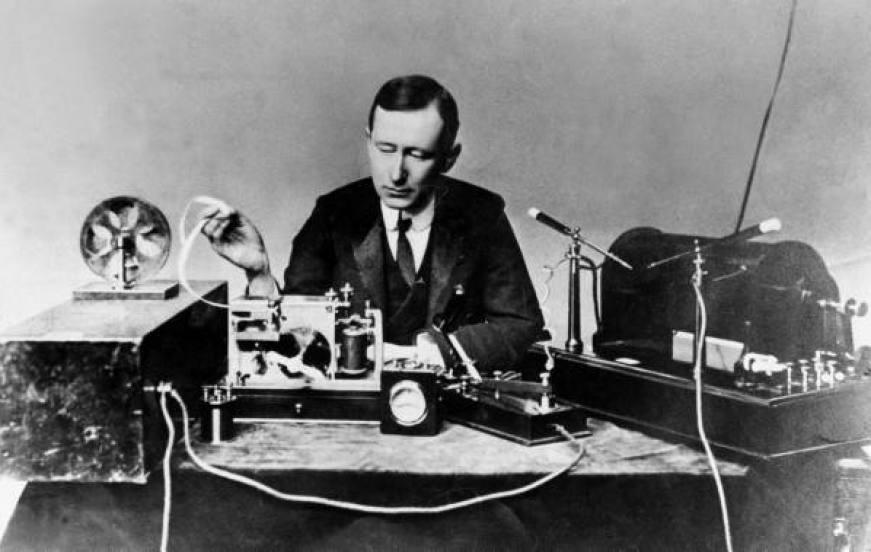 Guglielmo Marconi wireless telegraphy