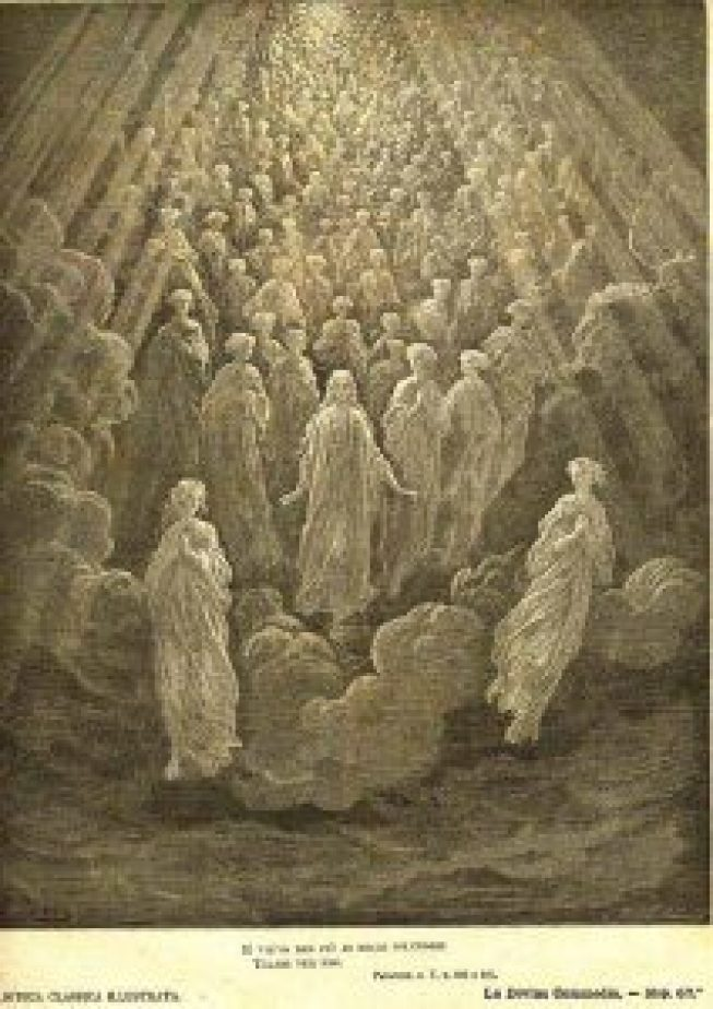 """Paradiso"" by Dante Alighieri, illustrated by Gustave Doré."