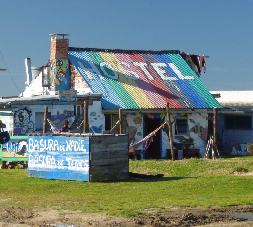 Hostel em Cabo Polônio