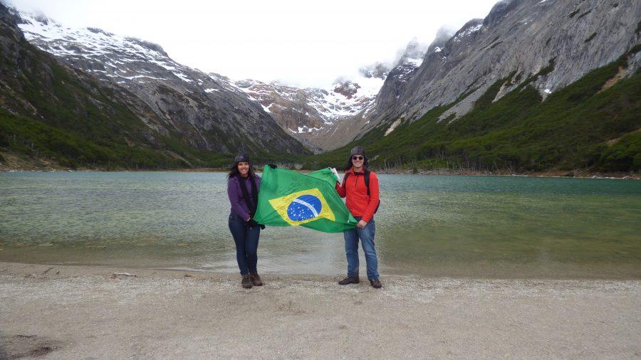 Brasileiros em Ushuaia - Laguna Esmeralda