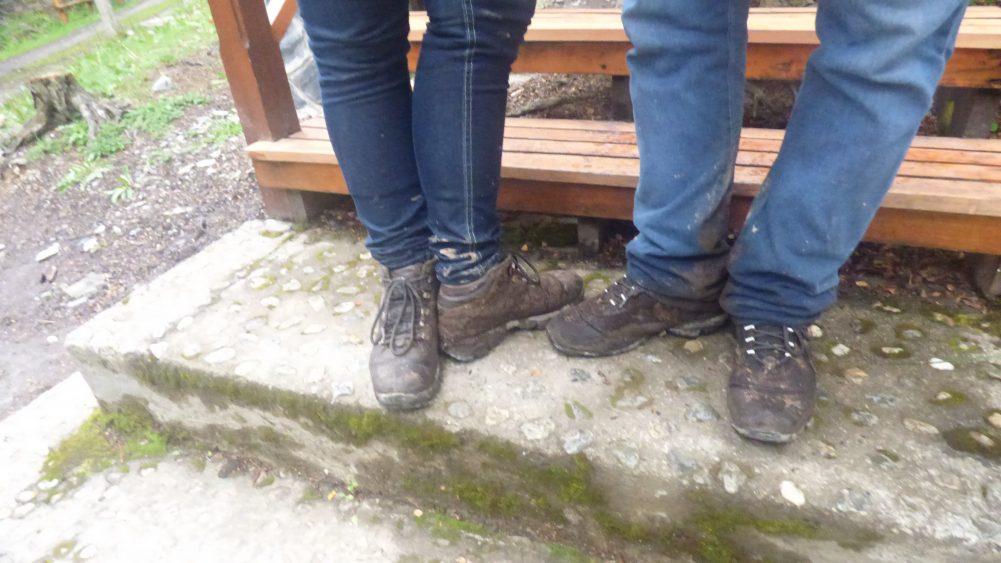 Resultado final das nossas botas