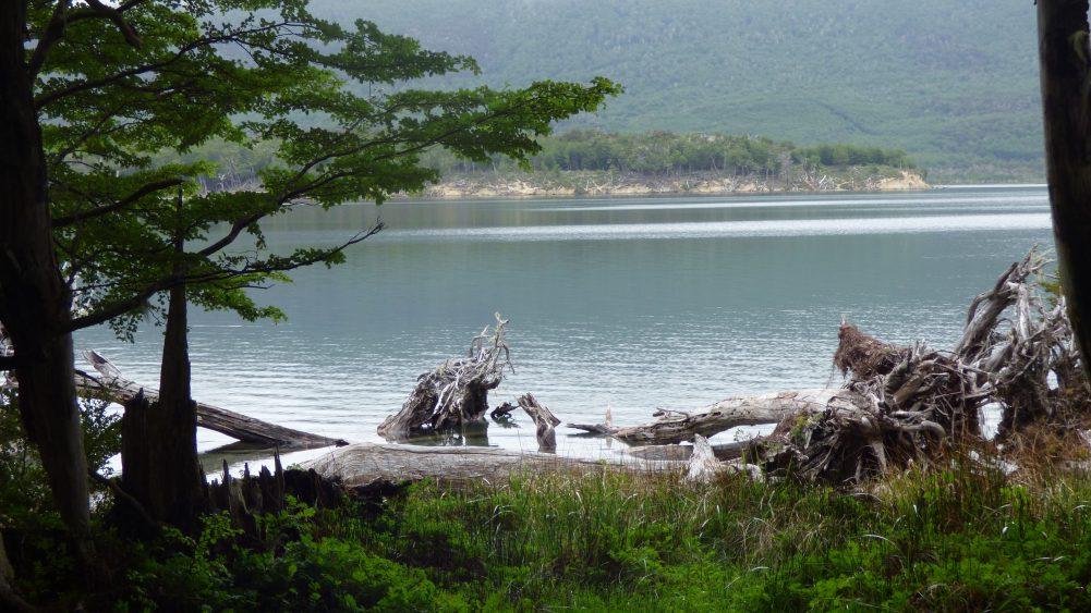 Linda vista do Refúgio do Tierra Turismo