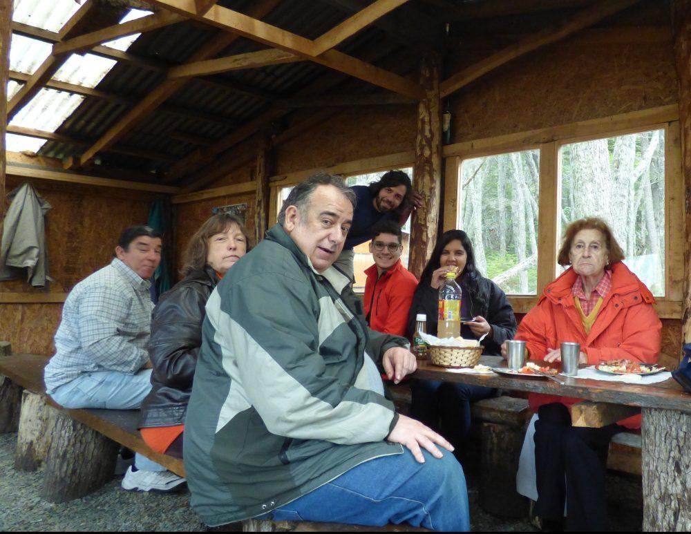 Almoço no refúgio do Tierra Turismo