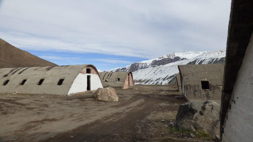 Las Cáscaras - acampamento mineiro