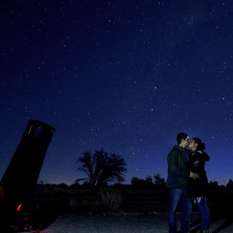 viajar para o chile - um dos melhores céus do mundo para observação astronômico