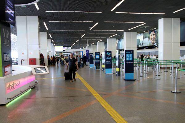 Aeroporto Internacional de Brasília.