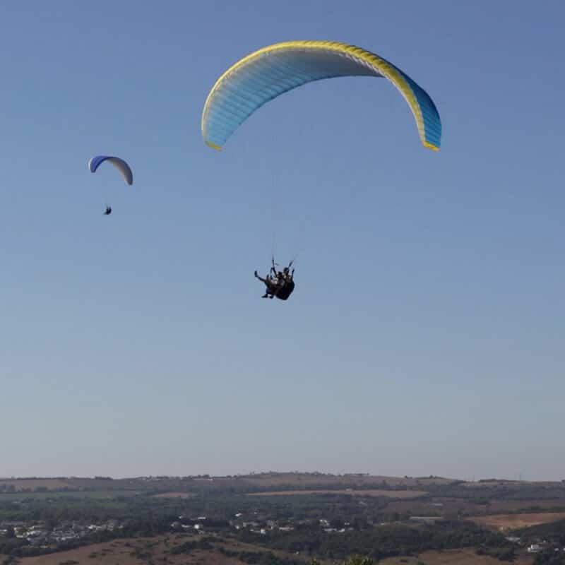 parapente vejer Volar en Parapente Biplaza HappyMoment3