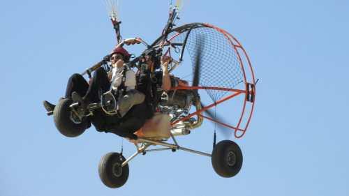 Biplaza Paramotor - Sanlucar de Barrameda vuelo en trike Vuelo en Trike Cadiz   Parapente Biplaza Motor BiplazaMotor 6