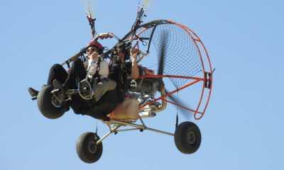 Biplaza Paramotor - Sanlucar de Barrameda parapente vejer Volar en Parapente Biplaza BiplazaMotor 6