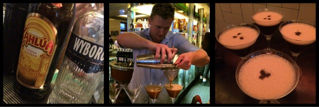 Esspresso Martinis at The Beresford