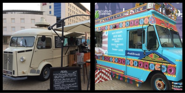 Food Trucks. World Art Dubai April 2015