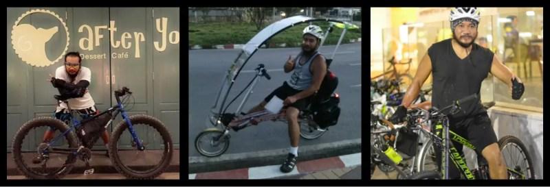 Eak adn his Bicycle Obsession. Bangkok. Thailand
