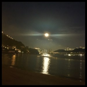 Full moon, full bellies. Yin Yang Coastal Hong Kong