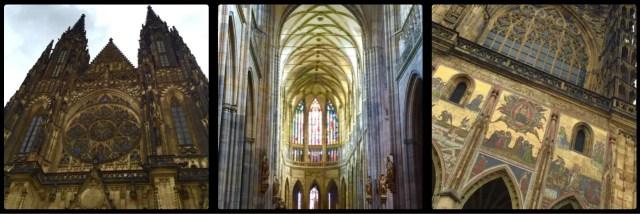 St Vitus Cathedral. Prague Castle. Czech Republic.