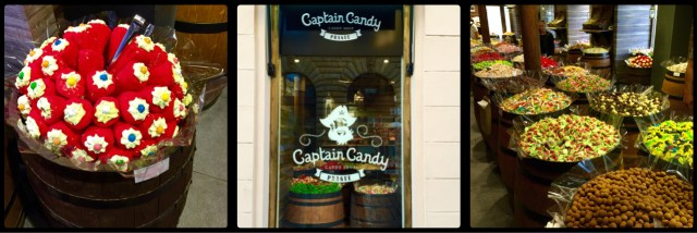 Captain Candy. Prague. Czech Republic.