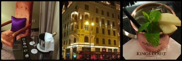 Hotel King's Court. Republic Square. Prague. Czech Republic.